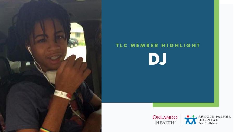 DJ: President of the Orlando Health Arnold Palmer Hospital for Children Teen Leadership Council