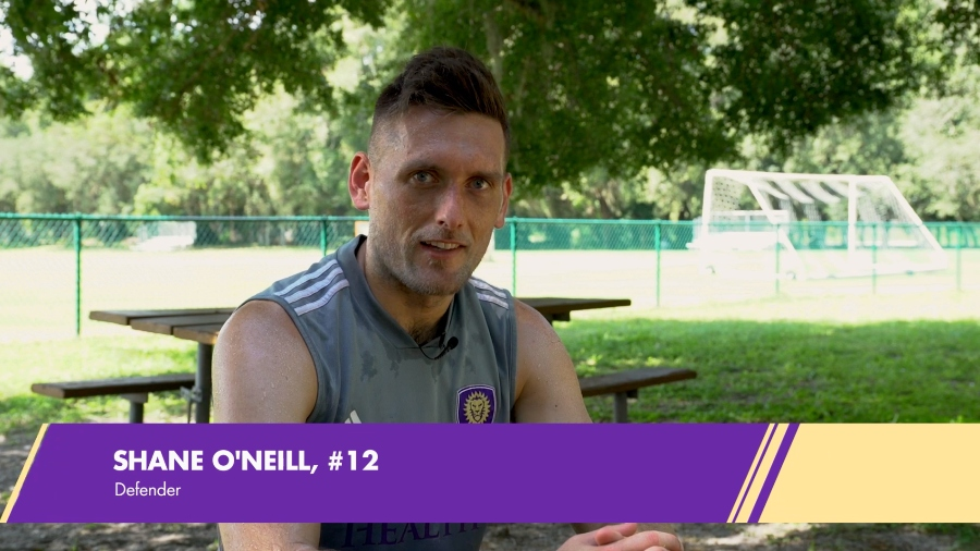 OCSC Player Shane O'Neill: From Good Mornings to Game-Winning Goals
