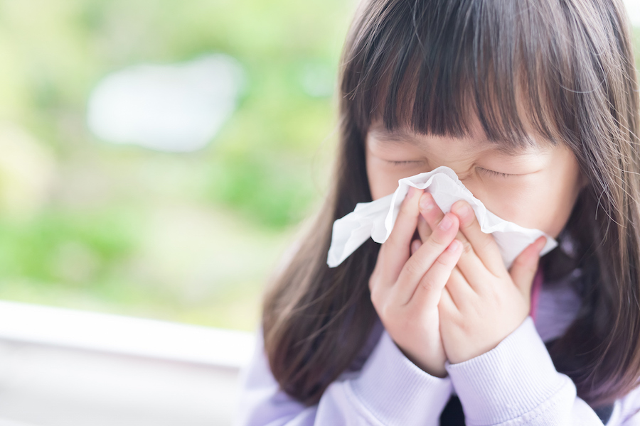 How to tell if your child has a cold or a sinus infection