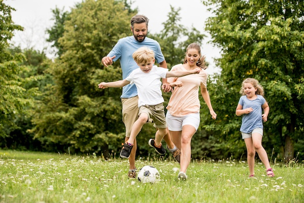 Quick Tips for Keeping Kids Active