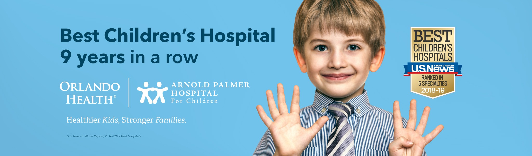 Best Children's Hospital 9 Years in a Row